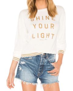 Shine-your-light-tshirt