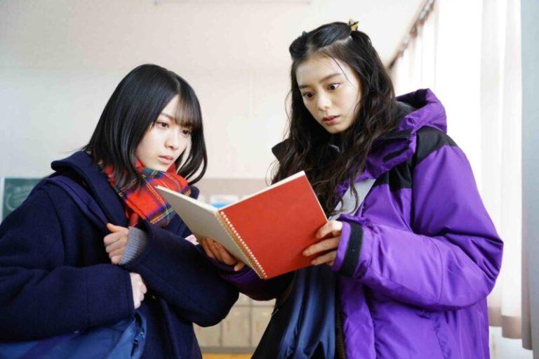 「ボーダレス」共演する紺野彩夏(右)と森田ひかる