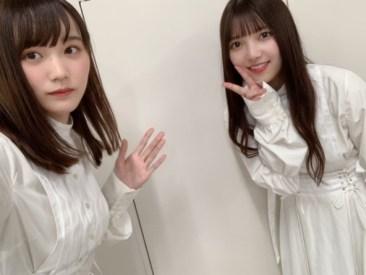 上村莉菜(右)と増本綺良