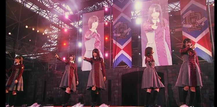 欅坂46のユニット「青空とMARRY」