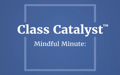 Mindful Minute for kids and adults