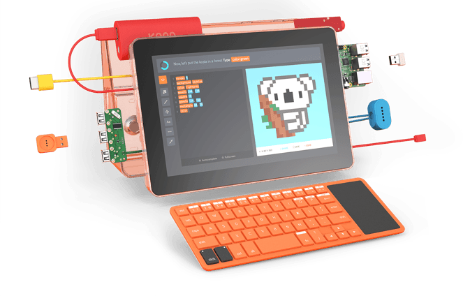 Image result for kano computer kit