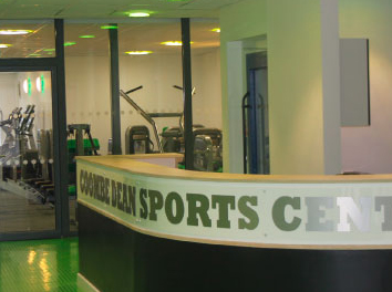 Coombe Dean School Sports Hall