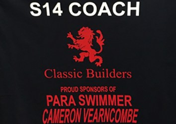 Classic Builders Sponsor Para Swimmer Cameron Vearncombe