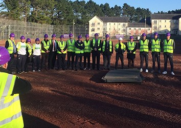 Manadon Sports Centre Project Started by Plymouth Builders