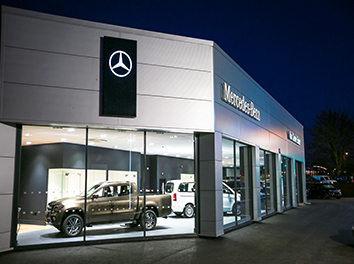 New Workshop & Refurbishment at Exeter's Mercedes Van Centre