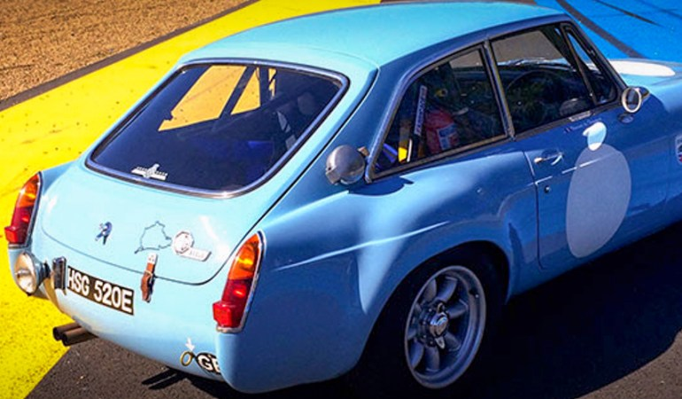MGB GT SEBRING TARGA FLORIO Replica – 1967