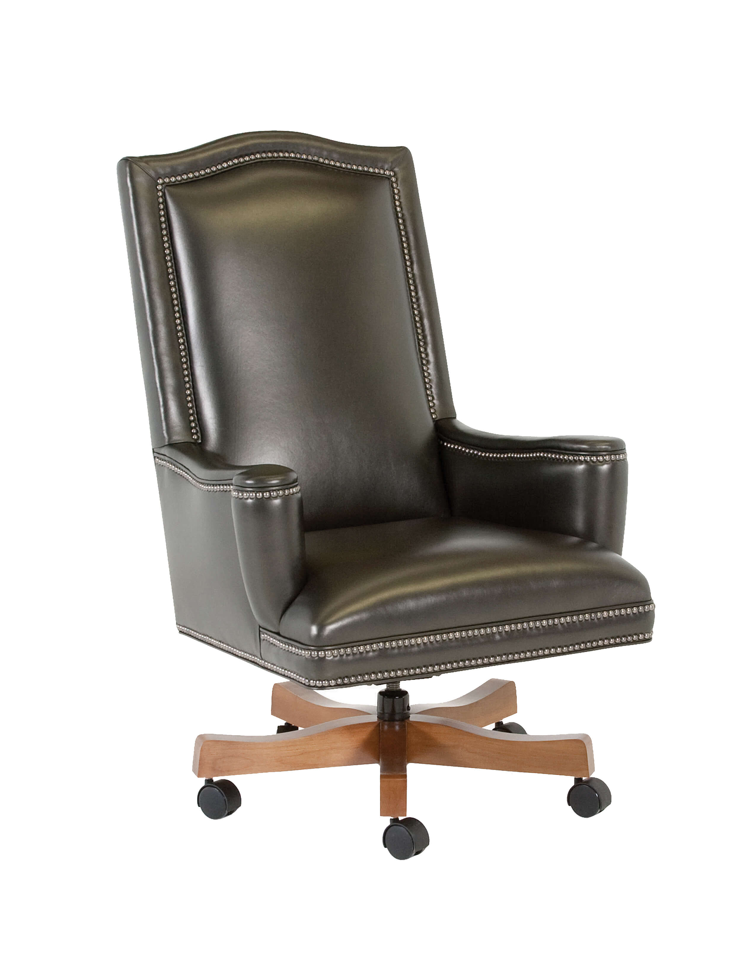 office club chairs air bag chair how to inflate classic leather seating 1042 st addison swivel