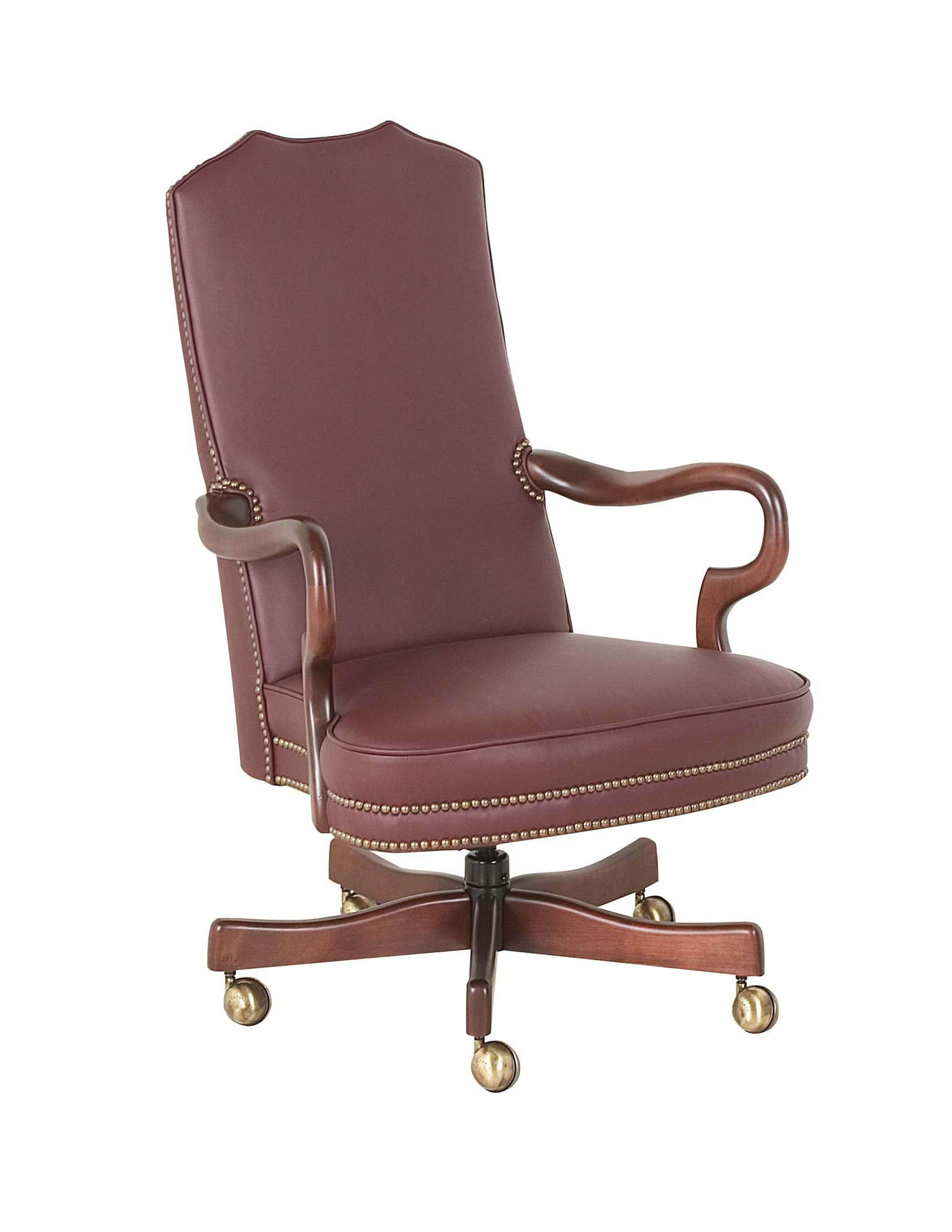 unique leather office chairs beach chair with leg rest classic seating 606 st goose neck swivel tilt