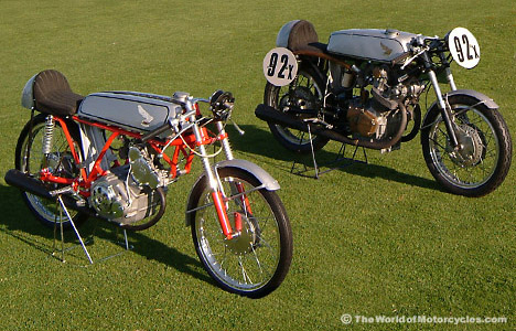 Honda CR110 Racer đời 1962 bản đua track