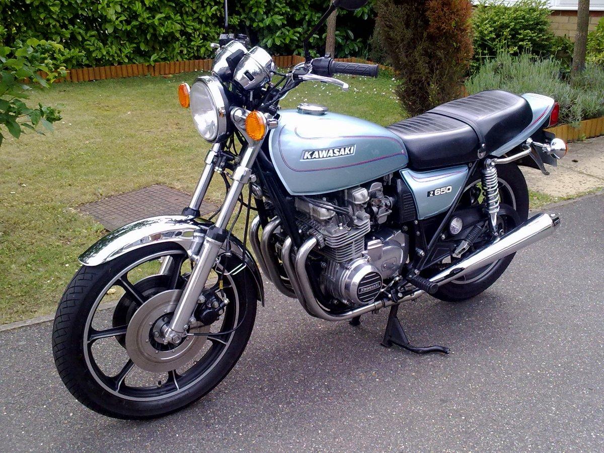 Kawasaki Z650 Gallery