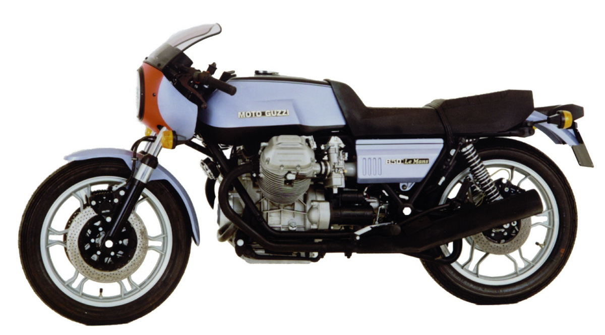 hight resolution of moto guzzi le mans