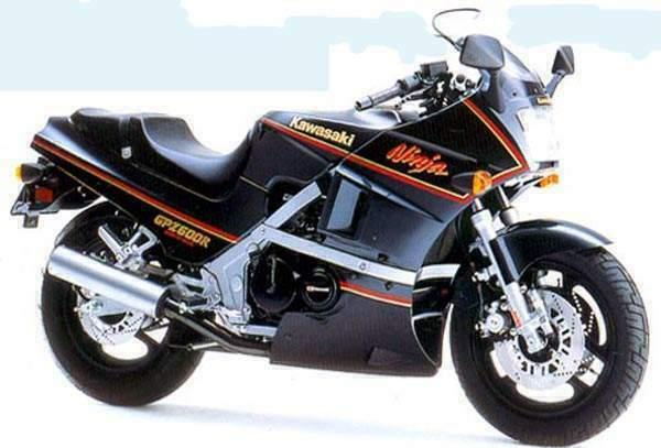 Kawasaki Gpz600 Gallery