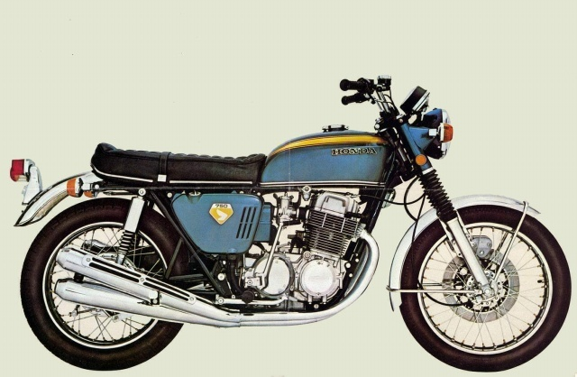 1976 honda cb750f wiring diagram 89 toyota pickup cb750 gallery classic motorbikes 1969 cb 750 four k0