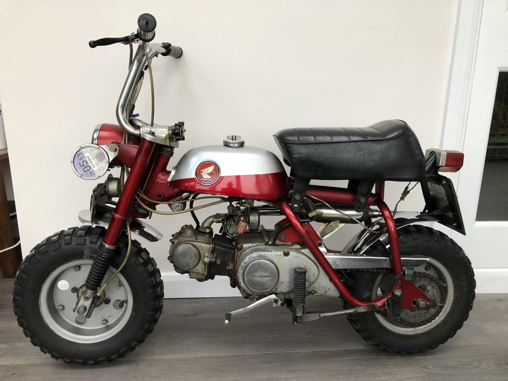 medium resolution of john lennon monkey trail bike xuc 91h