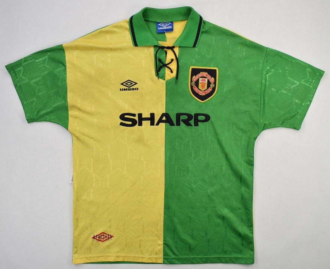 · manchester united confirm cristiano ronaldo return · related articles. 1992-94 MANCHESTER UNITED *CANTONA* SHIRT L Football ...