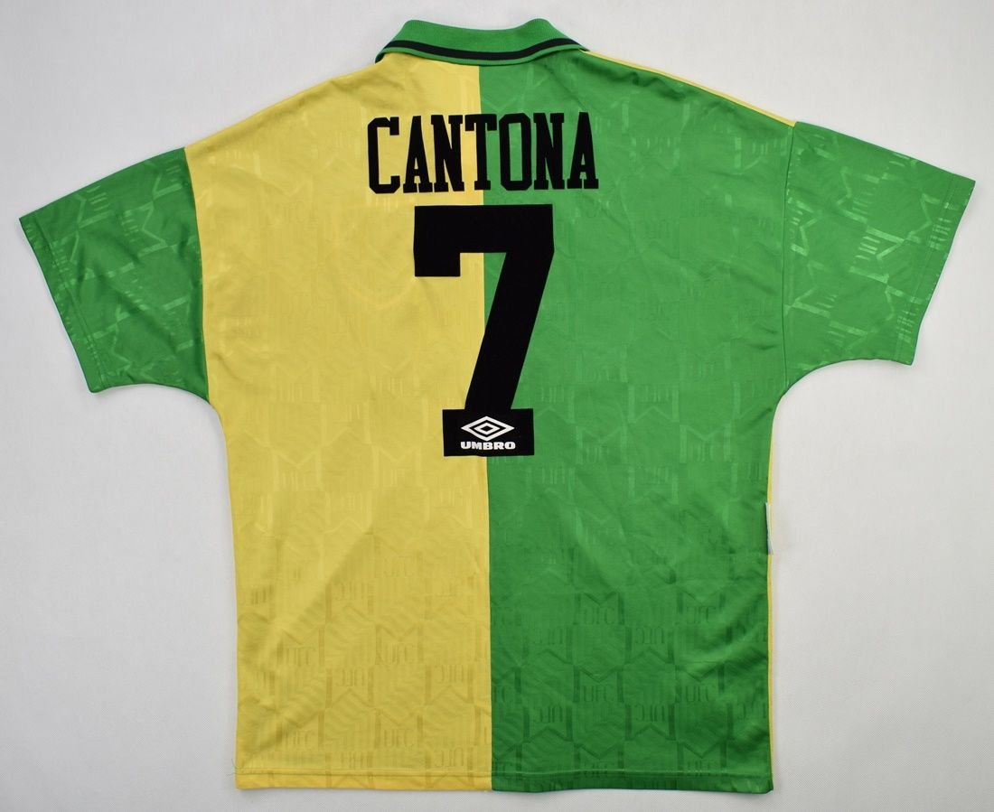 7 shirt again, which david beckham and eric cantona have worn, but new signing will be wary of becoming like angel di maria or alexis sanchez. 1992-94 MANCHESTER UNITED *CANTONA* SHIRT L Football ...