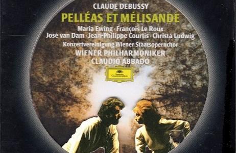 アバド指揮ウィーン・フィルのドビュッシー「ペレアスとメリザンド」(1991.1録音)ほかを聴いて思ふ