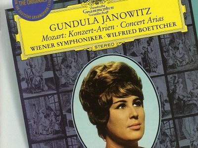 ヤノヴィッツのモーツァルト コンサート・アリアK.528ほか(1966.6録音)を聴いて思ふ
