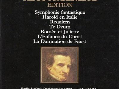 インバル指揮フランクフルト放送響のベルリオーズ「イタリアのハロルド」(1988.3録音)を聴いて思ふ