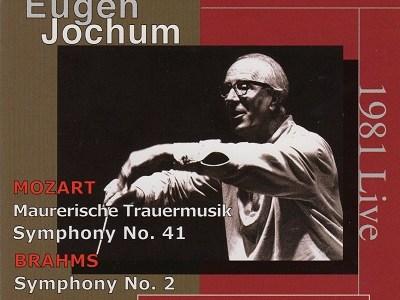 ヨッフム指揮ウィーン・フィルのモーツァルト「ジュピター」K.551ほか(1981.9.20Live)を聴いて思ふ