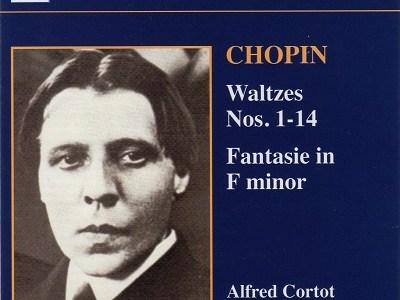 コルトー ショパン ワルツ集(1934.6.19&20録音)ほかを聴いて思ふ