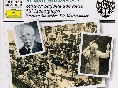 R.シュトラウス指揮ウイーン・フィル 家庭交響曲(1944.2.17Live)ほかを聴いて思ふ
