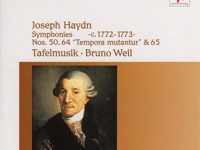 ヴァイル指揮ターフェルムジーク ハイドン第50番ほか(1993.3&4録音)を聴いて思ふ
