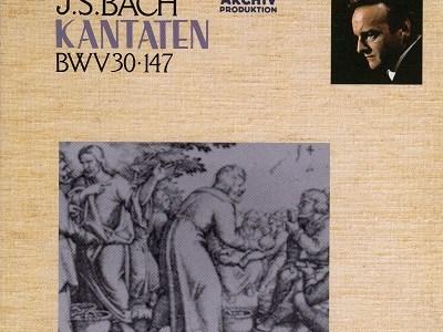 リヒター指揮ミュンヘン・バッハ管 バッハ カンタータ第147番(1961.7録音)ほかを聴いて思ふ
