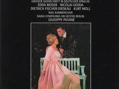 パターネ指揮ベルリン放送響 グノー「マルガレーテ(ファウスト)」ハイライト(1973.9録音)を聴いて思ふ