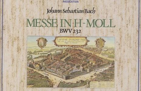 リヒター指揮ミュンヘン・バッハ管 バッハ ミサ曲ロ短調(1961.2&4録音)を聴いて思ふ