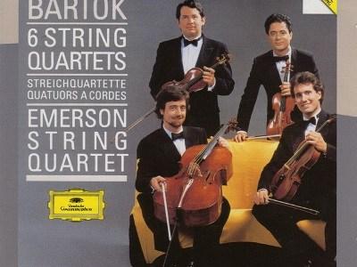 エマーソン弦楽四重奏団 バルトーク第3番(1988.1録音)ほかを聴いて思ふ