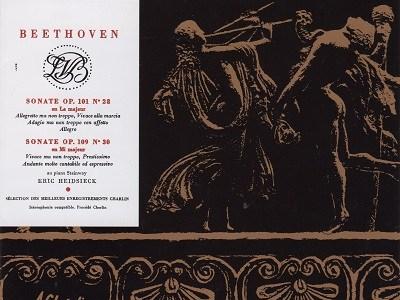 ハイドシェック ベートーヴェン ソナタ作品101&109(1965頃録音)を聴いて思ふ