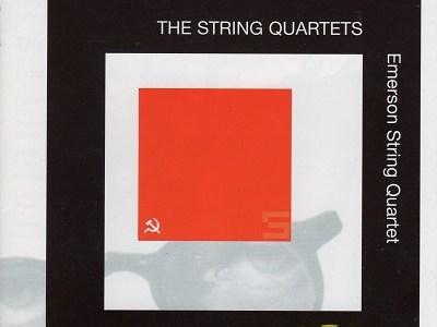 エマーソン弦楽四重奏団 ショスタコーヴィチ 四重奏曲第1番ほか(1999.6&7Live)を聴いて思ふ