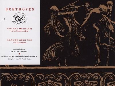 ハイドシェック ベートーヴェン ソナタ作品110&111(1963頃録音)を聴いて思ふ