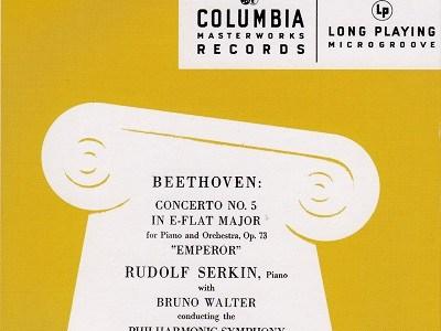 ルドルフ・ゼルキン ブルーノ・ワルター指揮ニューヨーク・フィル ベートーヴェン 第5番「皇帝」(1941.12.22録音)ほか