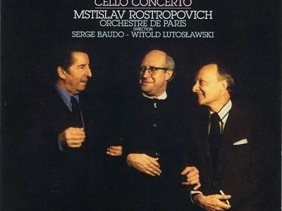 ロストロポーヴィチ ボド指揮パリ管 デュティユー 「遙かなる遠い国へ」(1974.11録音)ほか
