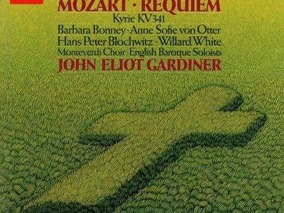 ガーディナー指揮イングリッシュ・バロック・ソロイスツ モーツァルト レクイエムK.626(1986.9録音)