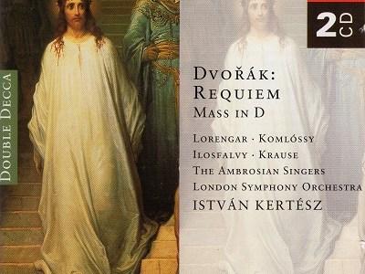 ケルテス指揮ロンドン響 ドヴォルザーク レクイエム(1968.12録音)ほか