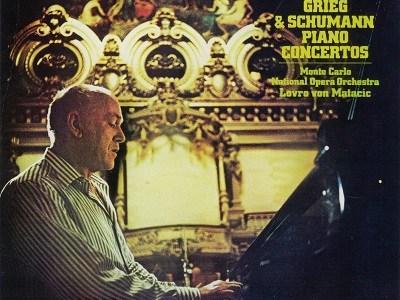 リヒテル マタチッチ指揮モンテ・カルロ国立歌劇場管 グリーグ ピアノ協奏曲ほか(1974.11録音)