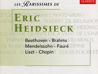 ハイドシェック ベートーヴェン 「エロイカ」の主題による変奏曲とフーガ(1972.10.30録音)ほか