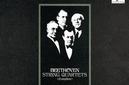 ブダペスト弦楽四重奏団 ベートーヴェン 弦楽四重奏曲第16番作品135(1960録音)