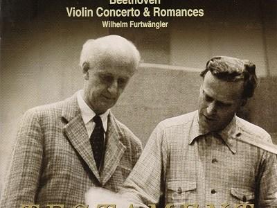 メニューイン フルトヴェングラー指揮ルツェルン祝祭管 ベートーヴェン ヴァイオリン協奏曲(1947.8録音)ほか