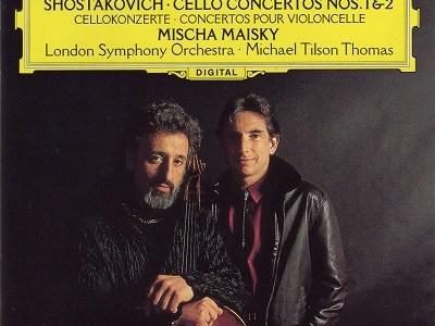 マイスキー ティルソン・トーマス指揮ロンドン響 ショスタコーヴィチ チェロ協奏曲第1番&第2番(1993.8録音)
