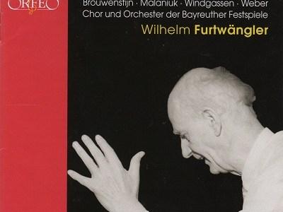 フルトヴェングラー指揮バイロイト祝祭管 ベートーヴェン 交響曲第9番「合唱」(1954.8.9Live)