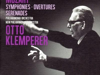 クレンペラー指揮フィルハーモニア管 モーツァルト 交響曲第31番「パリ」(1963.10録音)ほか
