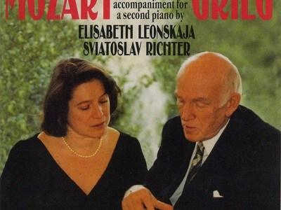 レオンスカヤ リヒテル モーツァルト グリーグ編 ピアノ・ソナタ第16番K.545(1993.8.16録音)ほか