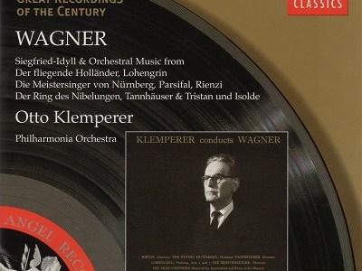 クレンペラー指揮フィルハーモニア管 ワーグナー ジークフリートの葬送行進曲(1960.2.27録音)ほか