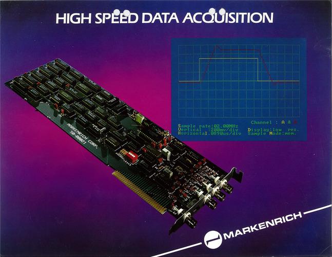 Markenrich High Speed Data Acquisition