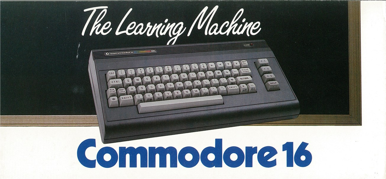 Commodore 16 The Learning Machine